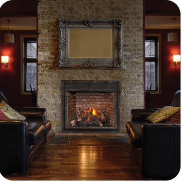 how to clean smoke stained brick on a fireplace