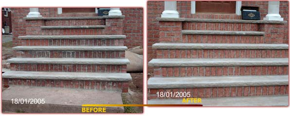 Brick Staining Technology